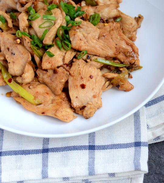 Vinegar-Glazed Chicken
