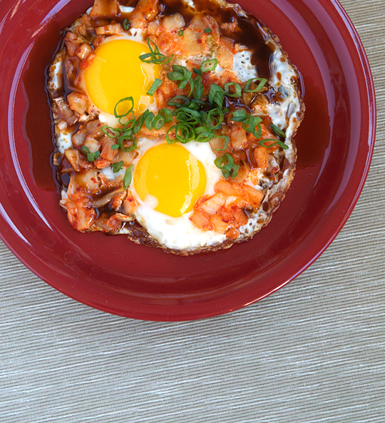 Fried Eggs with Kimchi — Appetite for China