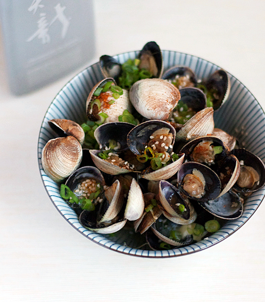 Sake-Steamed Clams — Appetite for China