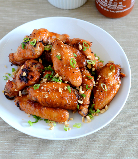 Sriracha Garlic Wings — Appetite for China
