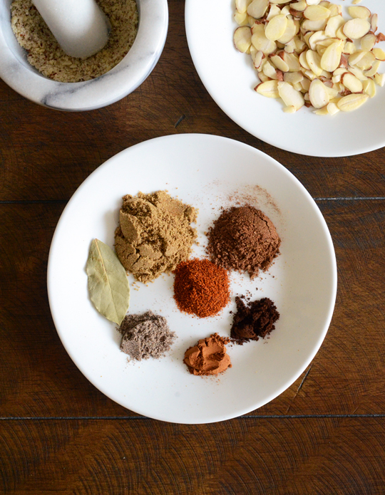 Chicken Korma ingredients