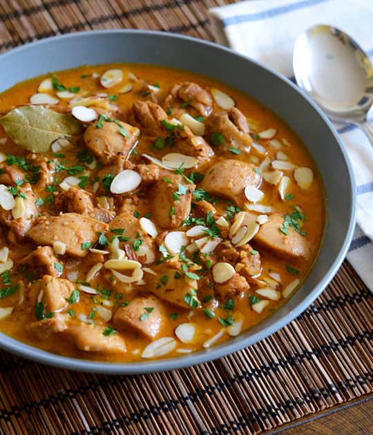 chicken korma appetite for china