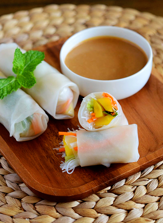 Mango Summer Rolls | Appetite for China
