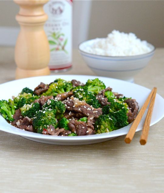Sesame Beef and Broccoli