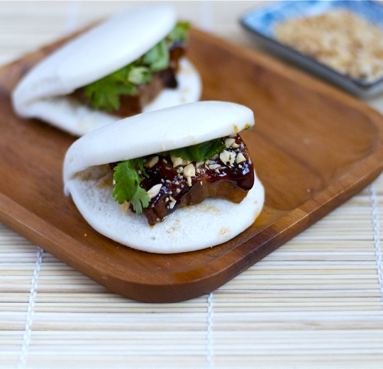 Taiwanese Pork Belly Buns