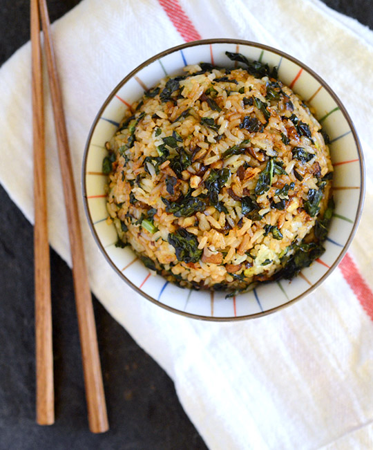 crispy-kale-fried-rice