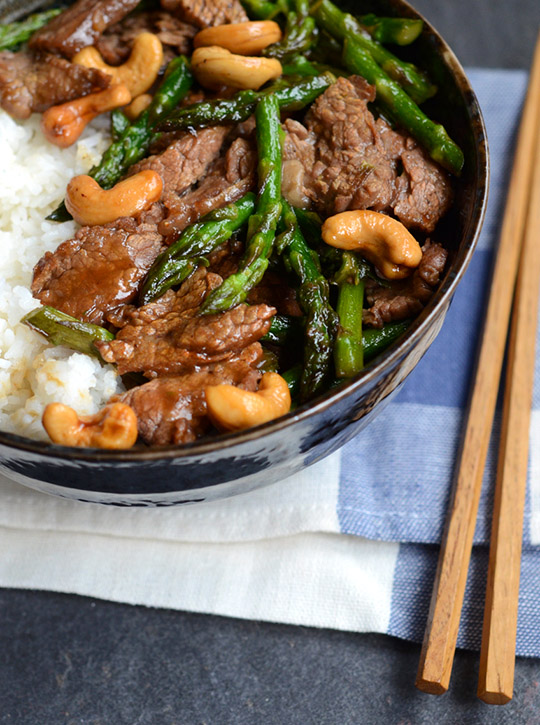 Garlic Beef and Asparagus Stir-fry — Appetite for China