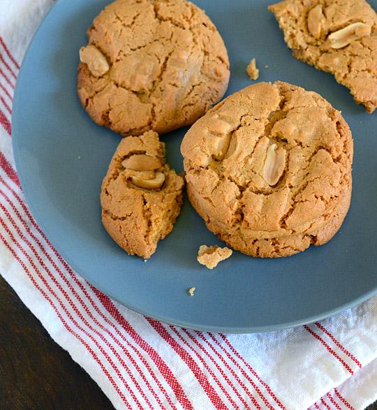 flourless-peanut-butter-cookies