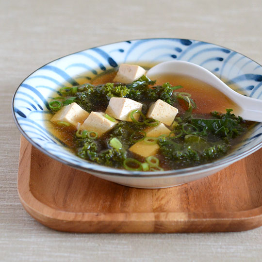 Miso Soup with Tofu and Kale — Appetite for China