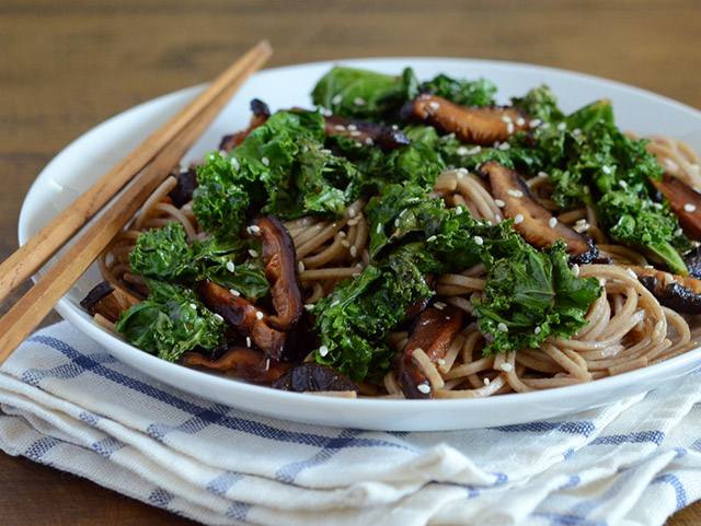 Black Garlic Soba Noodles — Appetite for China
