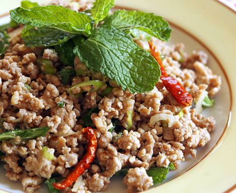 Thai Ground Pork Salad (Larb Mu) — Appetite for China