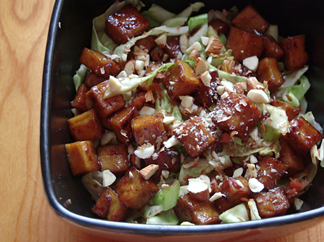 Tofu and Almond Salad Bowl — Appetite for China
