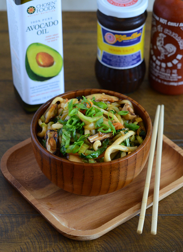 Shanghai Noodles + Cookbook and Avocado Oil Giveaway! Appetite