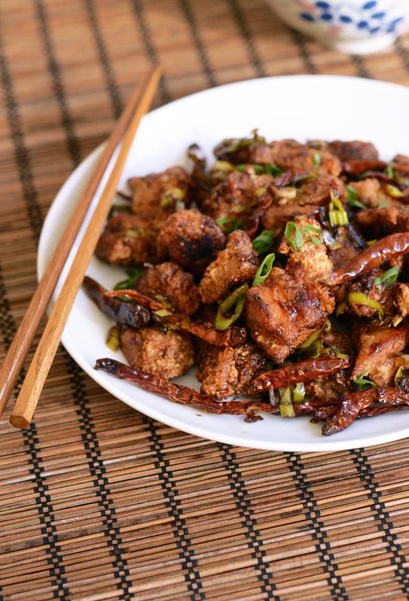 Sichuan Wok-Fried Chicken (Chongqing Chicken)