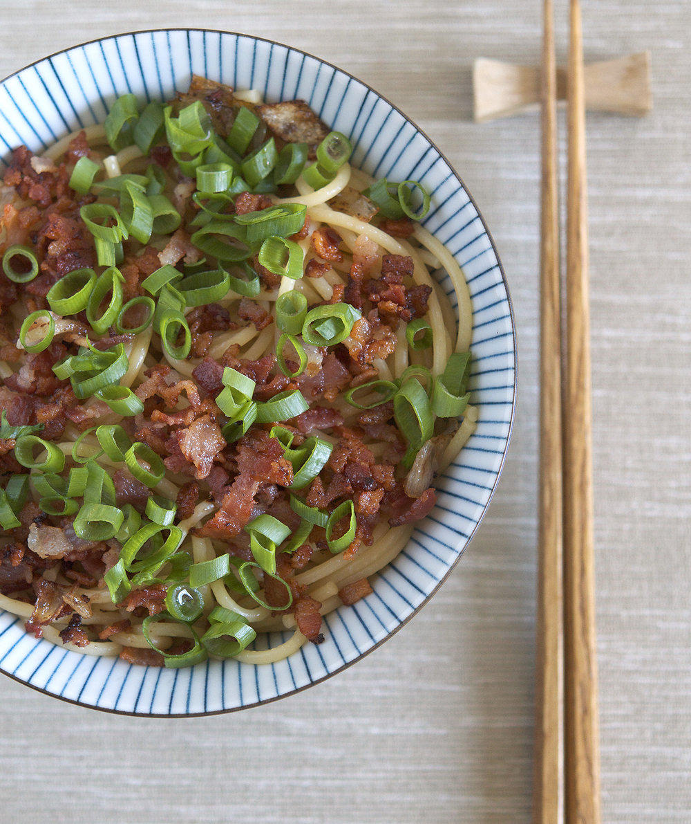 Hong kong noodles with shallot oil appetite for china forumfinder Images