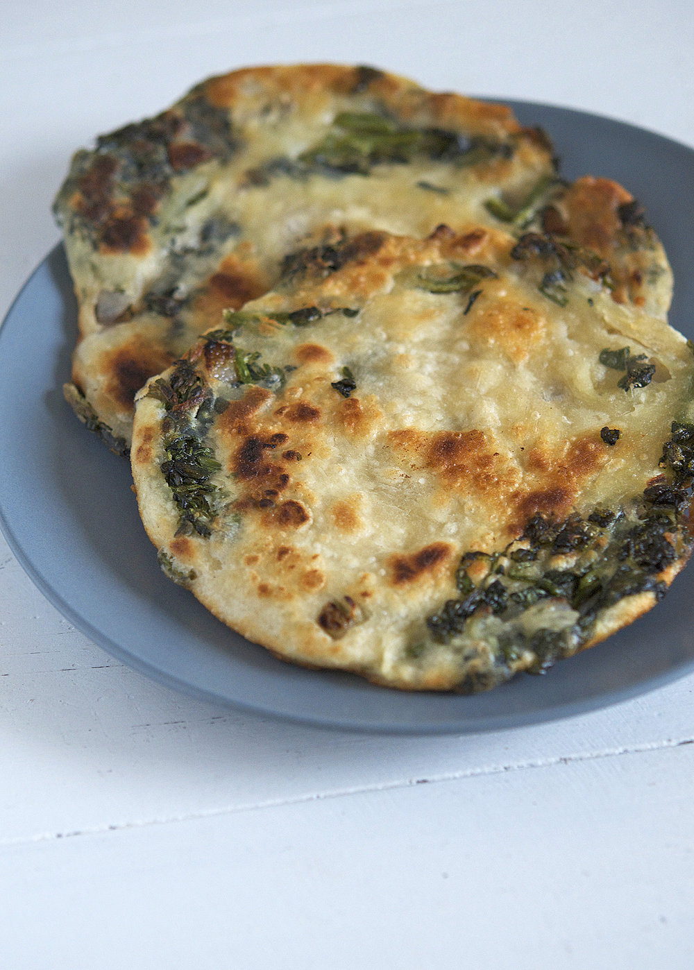 Chinese Watercress and Shallot Pancake | Appetite for China