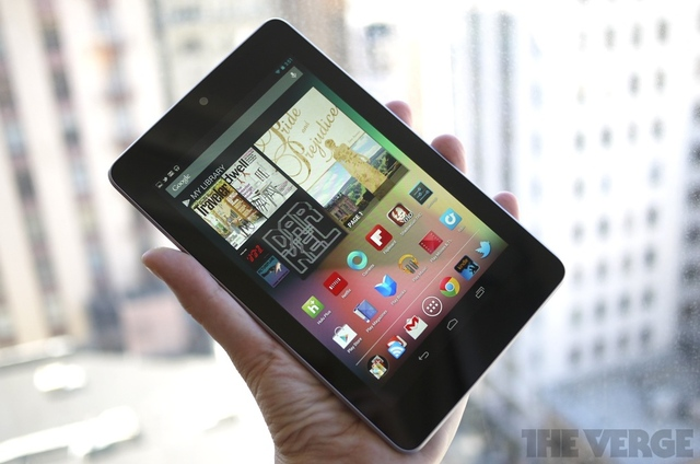thisistheverge :      Nexus 7: when and where can you get one?    Seems like there's still a wait.     Still one sharp rectangle.
