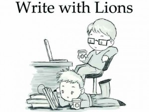 veritasnoir: Hello Tumblr Friends! Write with Lions is an accessible, illustrated book that encourages writers of all ages to re-imagine classic fables.The first printing is scheduled for July 2013 and the author is working with contributors to distribute copies of the book to kids in public schools. You can buy a book for yourself and have the option of gifting one to a current student too. We love the idea that fables can inspire new stories. Help contribute or spread the word if you feel the same! http://www.kickstarter.com/projects/veritasnoir/write-with-lions