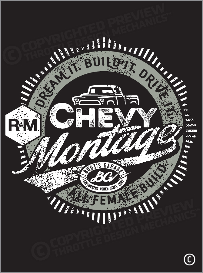 BASF Chevy Montage