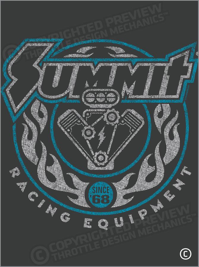 Summit Flaming Engine