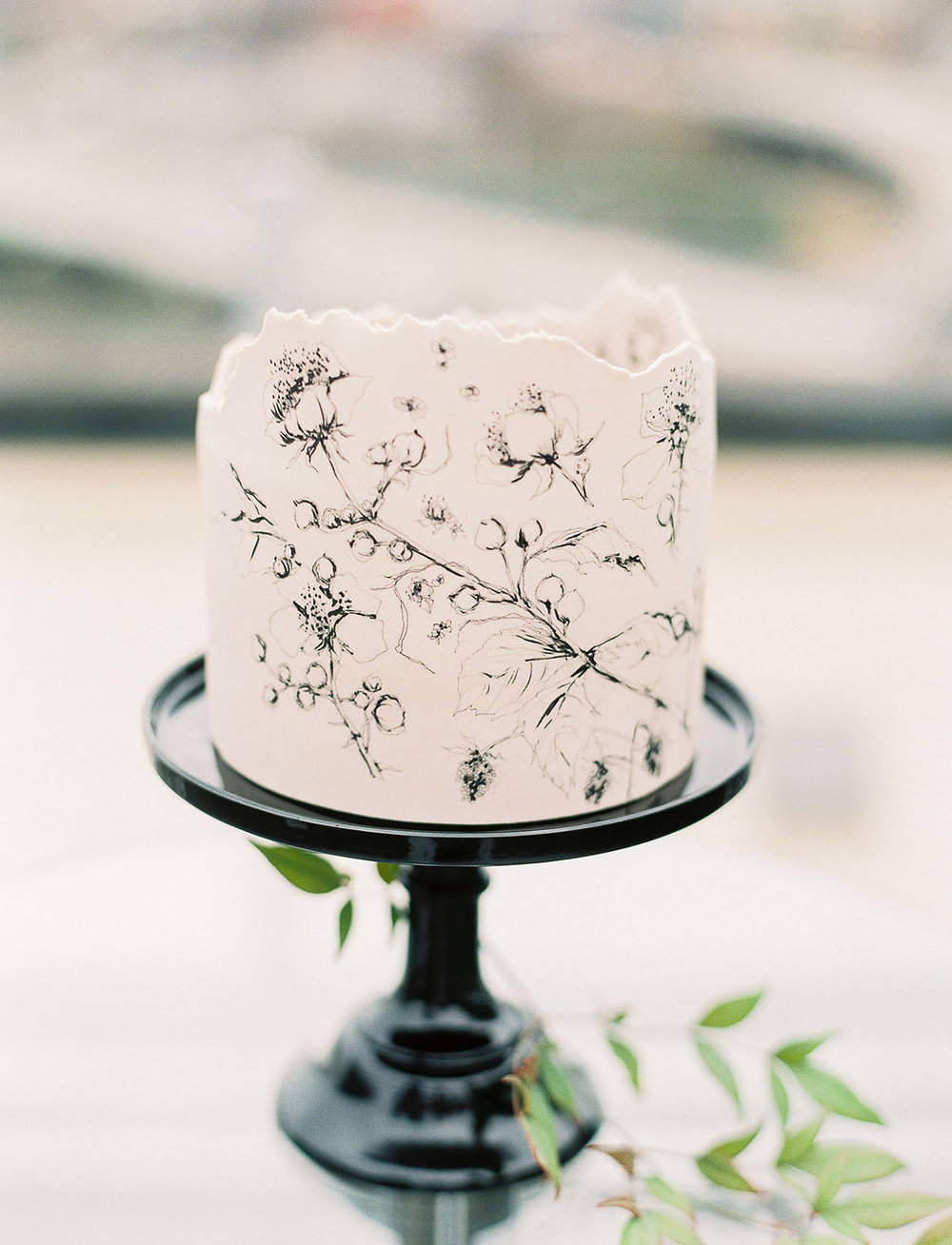 There's no better way to display your cake as a work of art than to make it a  literal  work of art. Painted cakes are taking over, and we're here for it. The best part: painted floral cakes come in kinds of style from modern to impressionism to realism. They'd belong in a museum if they didn't taste so good!