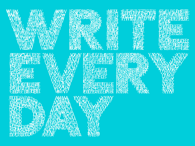 Write-Every-Day-Type-Logo-Left-Aligned-Blue
