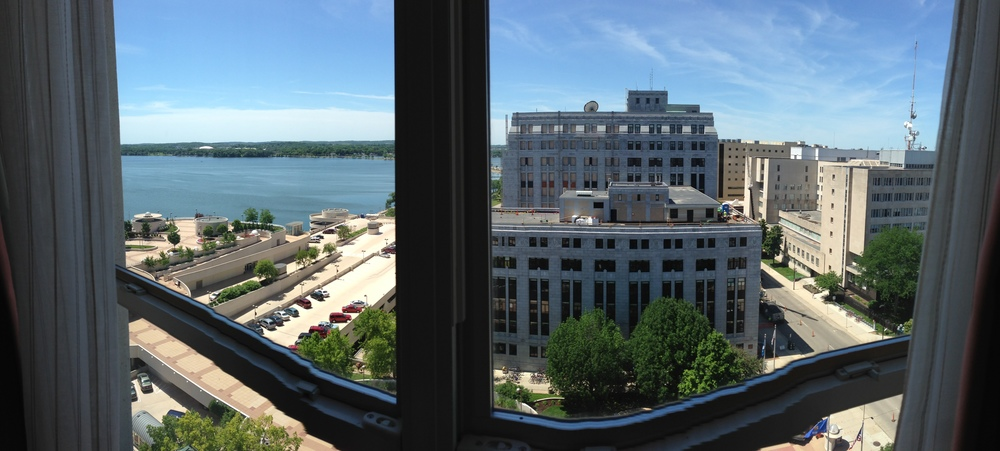 Madison's Lake Monona.