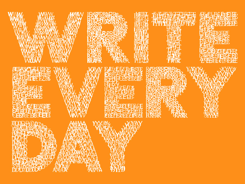 Write Every Day Logo
