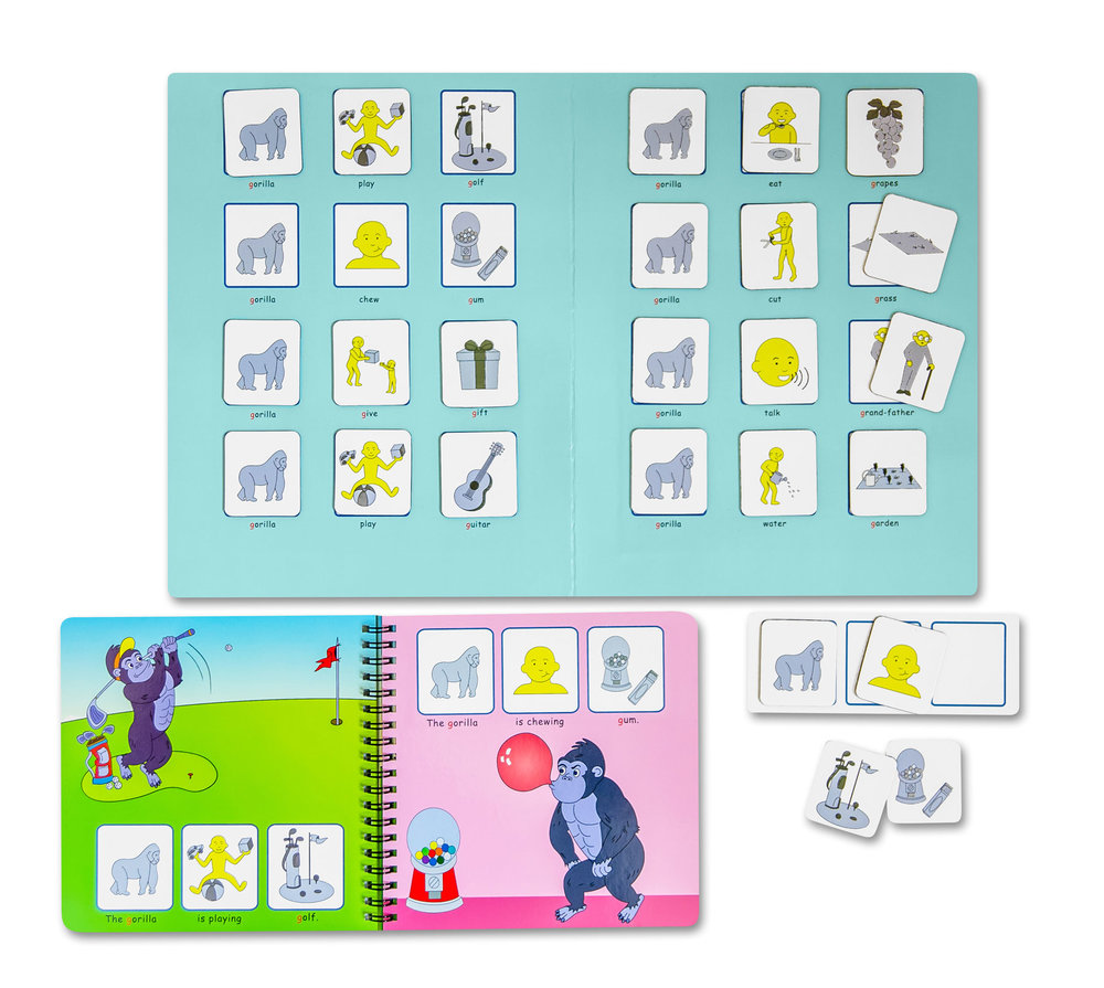 Check out our magnetic books! -