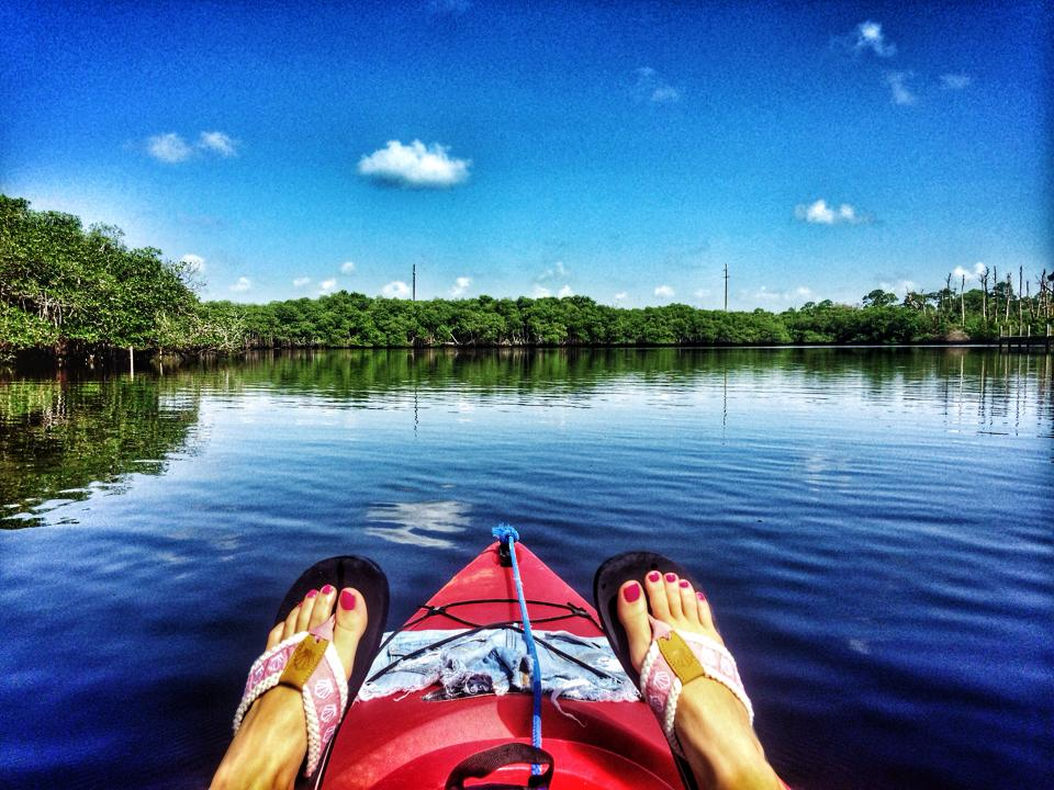 Staying fueled on a kayak adventure