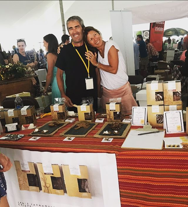 Throwback to the Vermont Cheesemakers Festival this past summer❤️ . . . #throwbackthursday #throwback #summer #cheesefestival #shelburnefarms #vermont #crackers #cheeseandcrackers #artisan #gourmet #foodie #foodies #foodiesofinstagram #happy #love