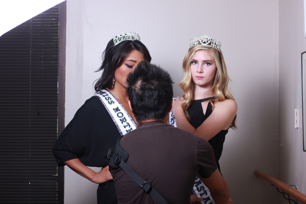 """OMG these sashes are sooo troublesome!"""