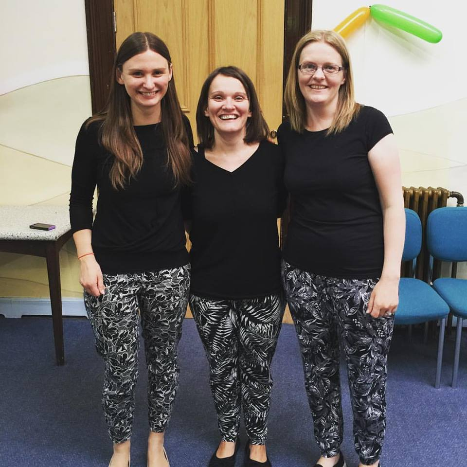 Ali, Leah and Kirsty who co ordinated the event