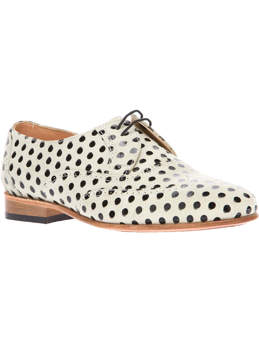 Dotted Oxfords from Dieppa Restrepo