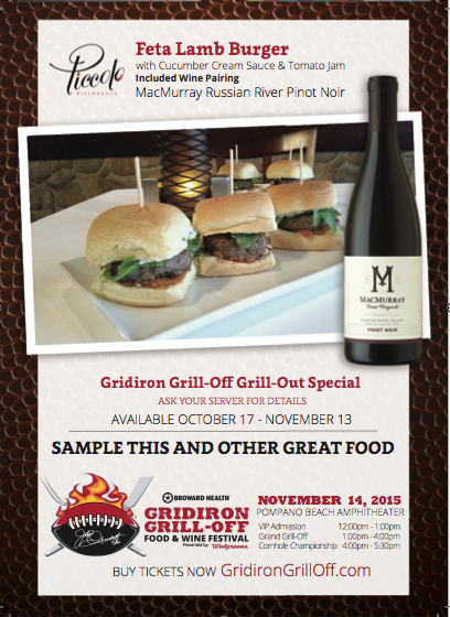 Join us for this year's Gridiron Grill-off