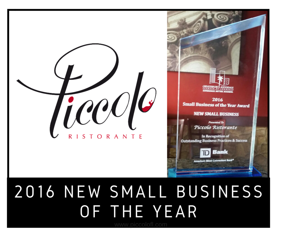 2016 Winner of the New Small Business of the Year Award