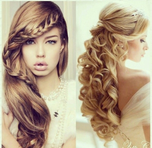 just like the hairstyle the makeup look is also dictated by the dress