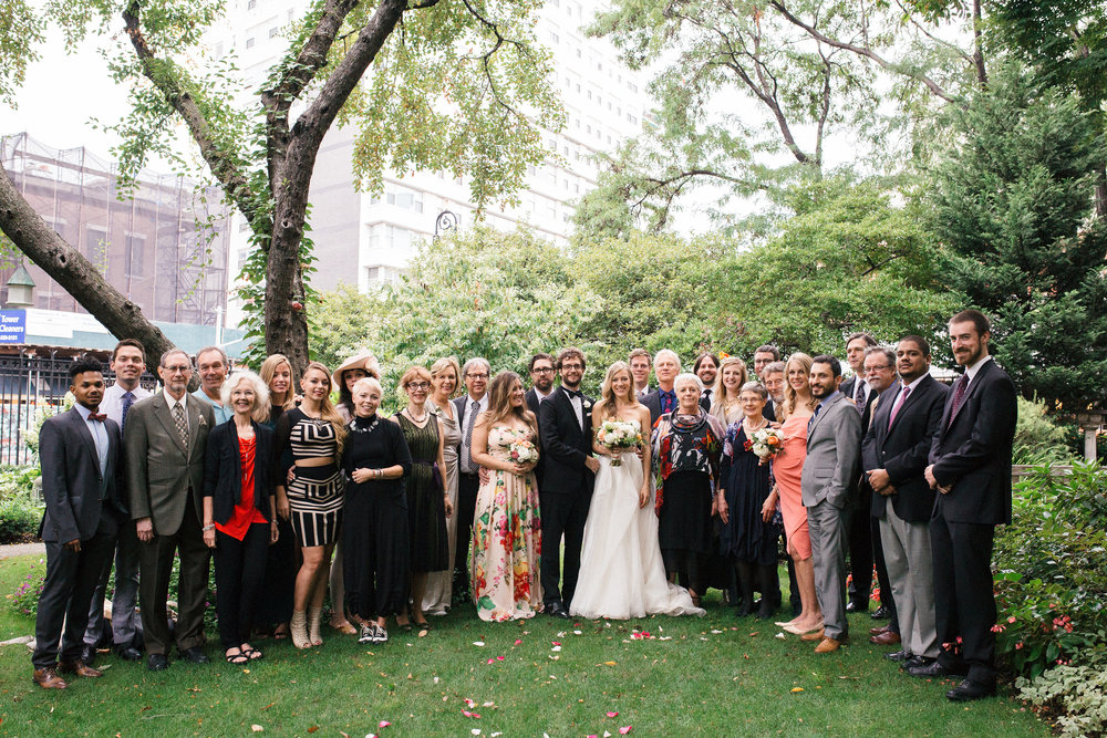 Entire Family Soho Wedding