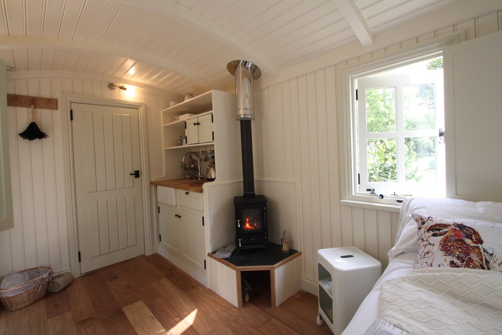 'We are besotted with our shepherd's hut, its gorgeous and we can't wait for guests to enjoy very special breaks in it. From the start Pennie and Kevin impressed us with their friendly laid back but highly professional approach listening to our wishes and offering sound advice when needed.    Thank you for bringing something so very special into our lives.' Trevor & Danielle Musson