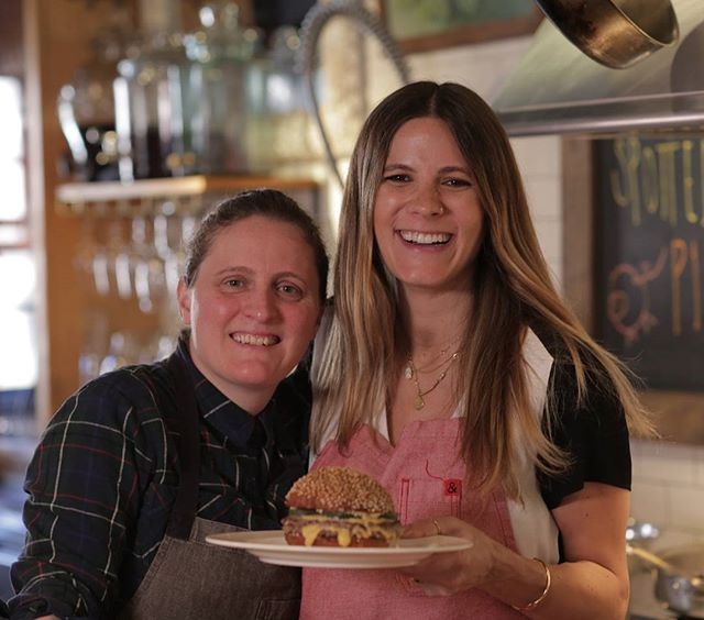 Our chef, @aprilbloomfield talks with @edeneats on Episode 12: Cleanup for the @prince_street_ podcast. Link in bio! Be sure to watch the follow-up video to see Chef April make @salvationburger's  Classic Burger.