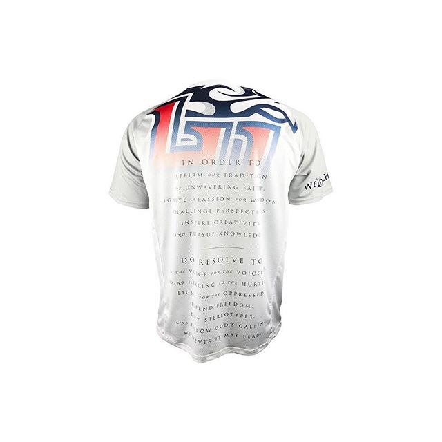 The 2018 Liberty Men's Lacrosse Shooters feature a full-back design, blending Liberty's main logo mark with the University's Declaration of Faith.  #zimagear #libertylax #libertyflames #mcla