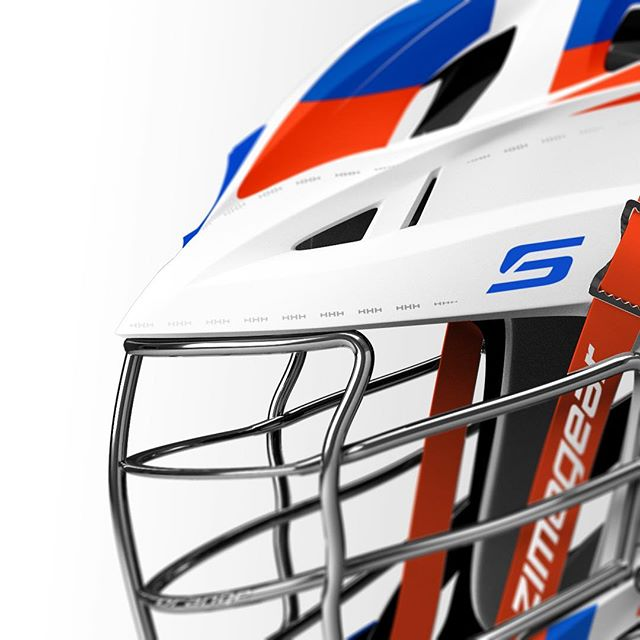 "For the 90th anniversary of the original lacrosse helmet, we introduce the 2018 ""Throwbach"" Helmet for @cusemlax. Drawing inspiration from the original lacrosse helmet, the stitching features the traditional ""HHH"" Syracuse Lacrosse mantra. Designed in collaborationwith @cascade_lacrosse, the pinnacle of performance & protection.  #zimagear #cuselax #lacrossehelmets #lacrosse #lax #collegelax"