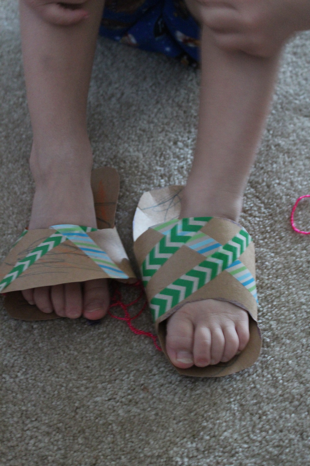 Middle's slippers.