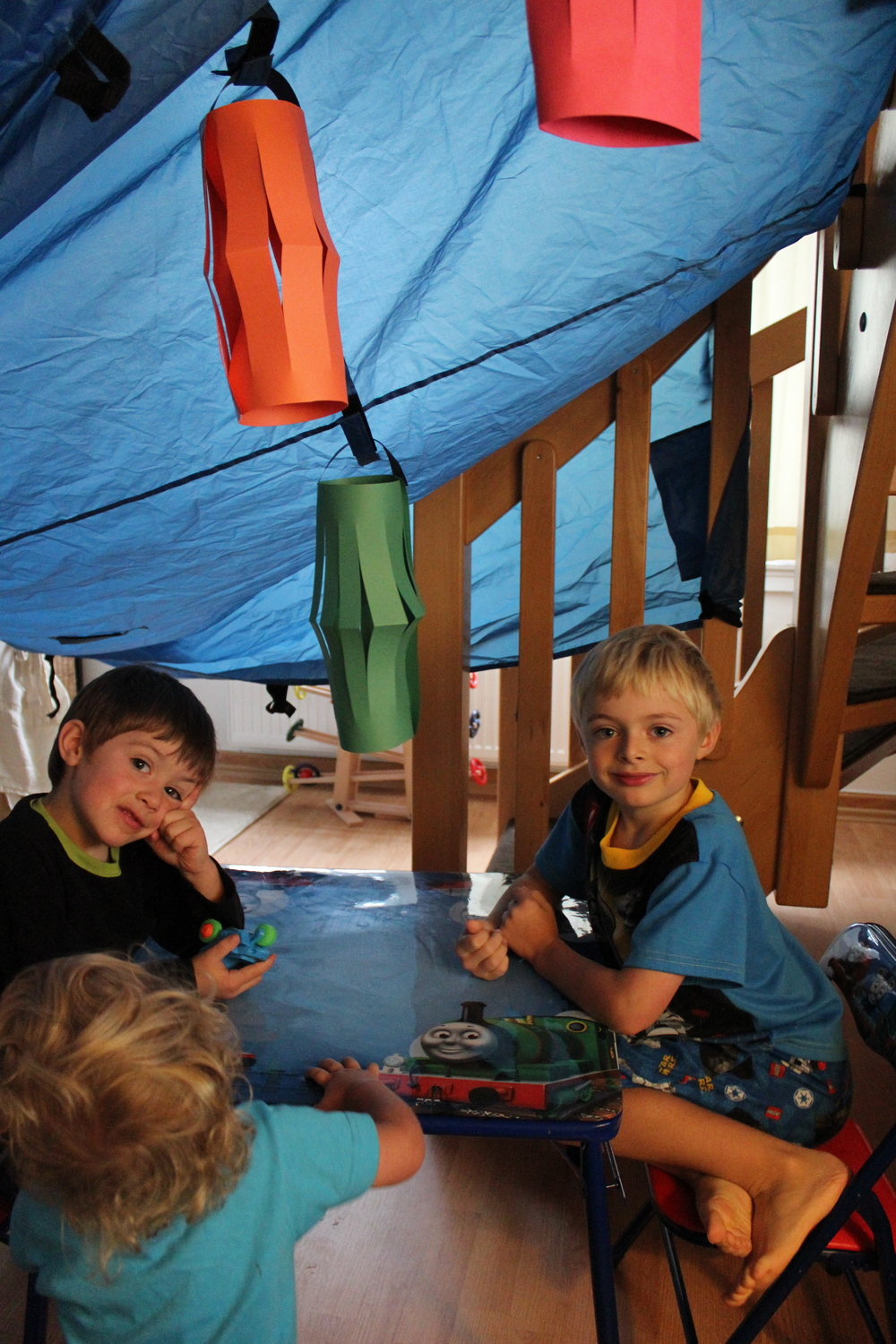 "In our ""Sukkah"""