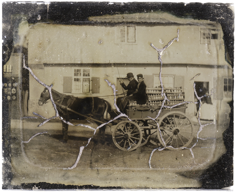 Horse-Drawn Milk Delivery Wagon, 2011 - LR12171