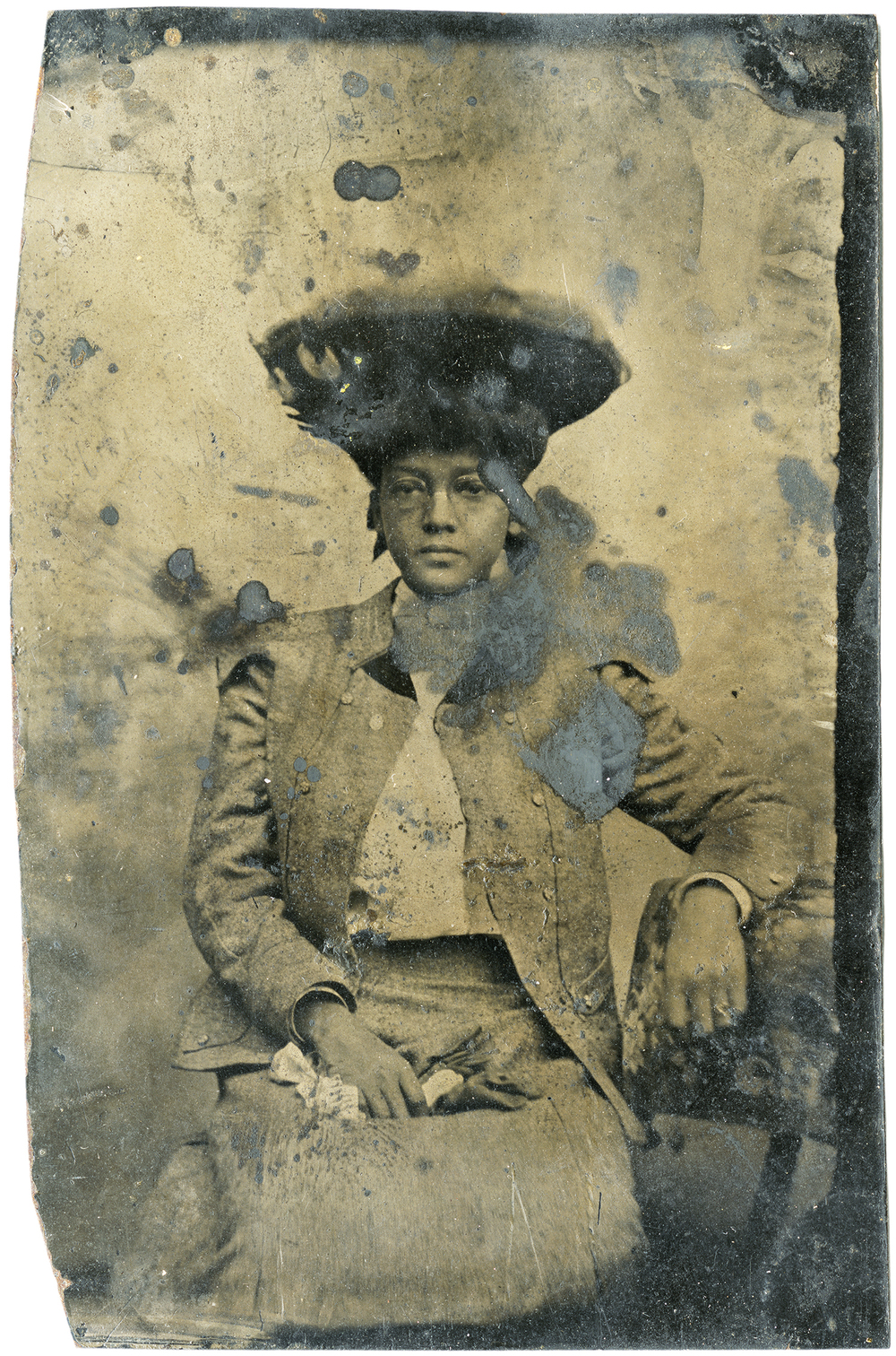 Young Woman with Hat, 2012 - LR12080