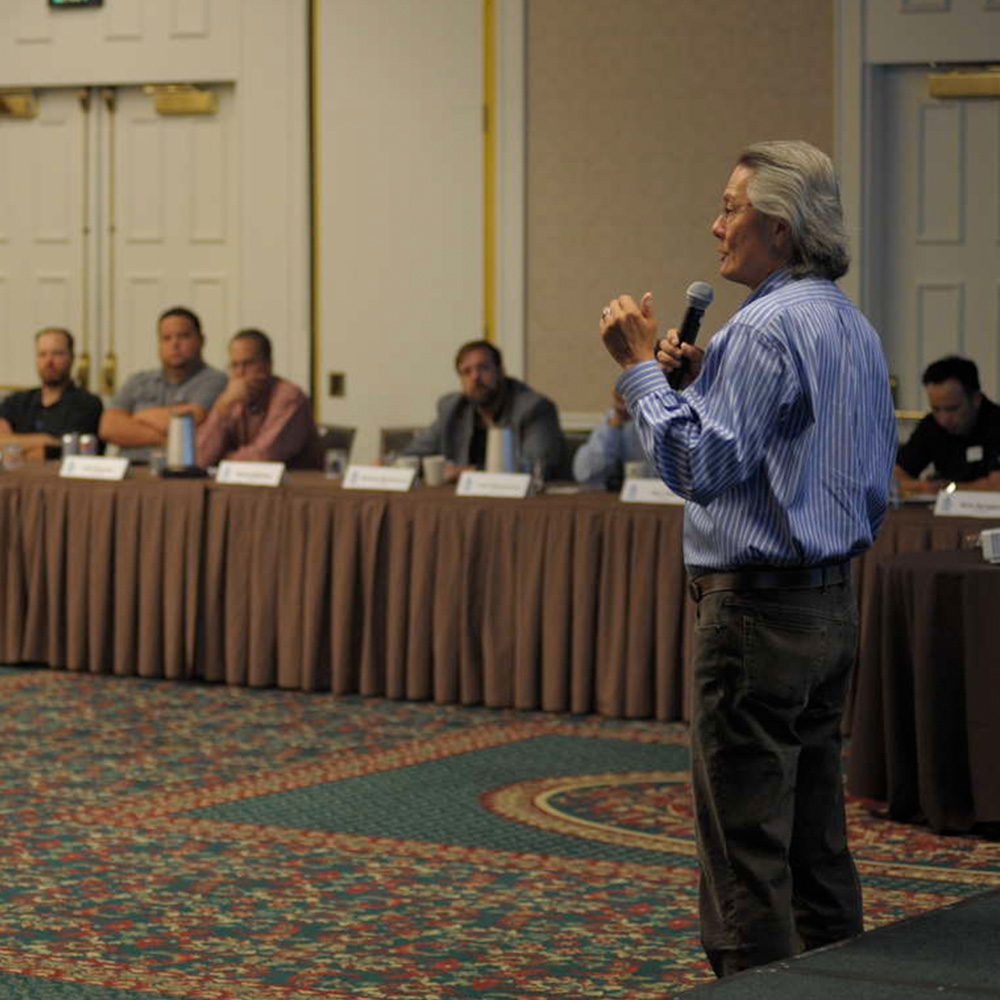 CEO Rich Leao at Sales Conference