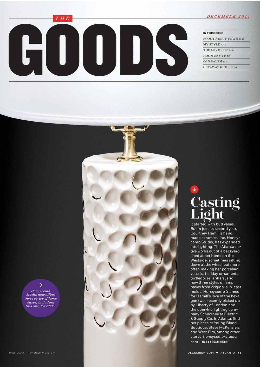 Atlanta Magazine - December 2014