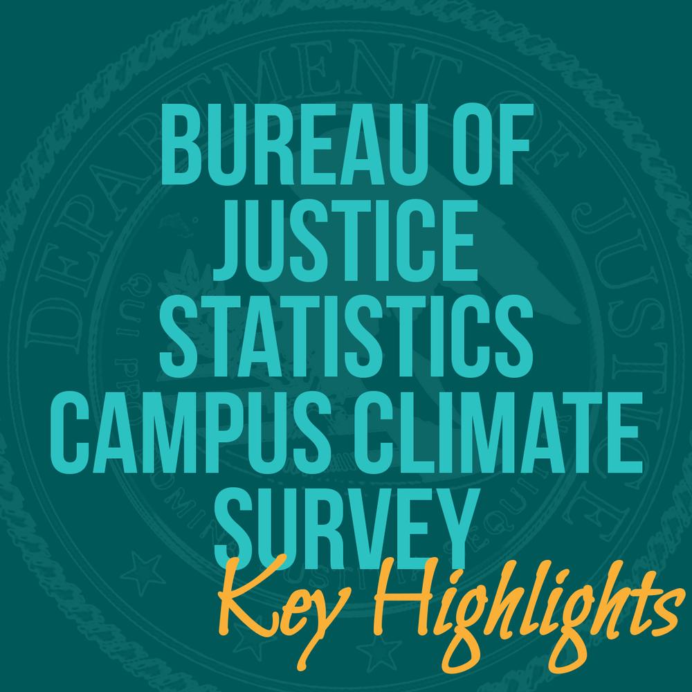 U s bureau of justice statistics 39 campus climate study for Bureau justice statistics