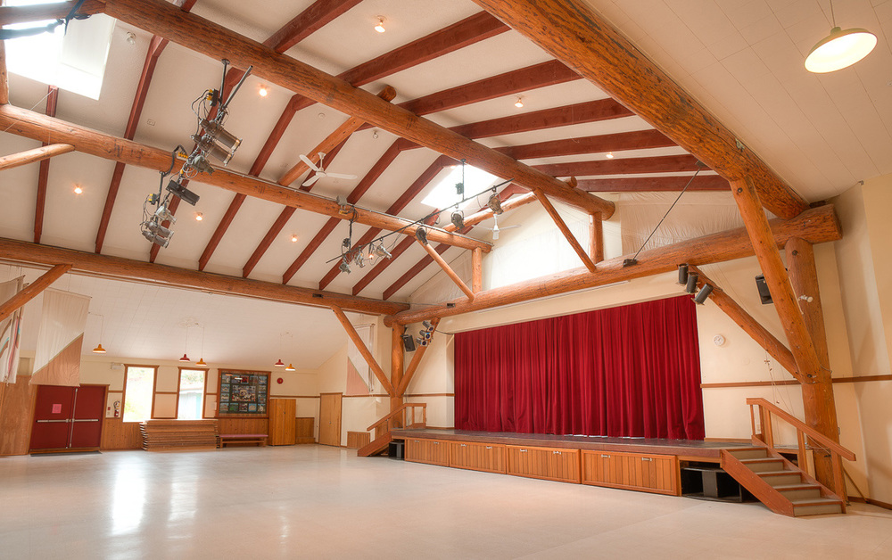 Main Hall & Stage Perfect for concerts, screenings, plays, weddings and more.